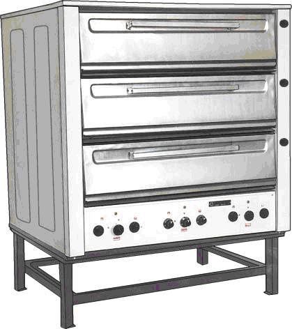 Шкафы пекарные ШПЭСМ-3М-п/ув. предназначены для выпечки хлебобулочных и кондитерких изделий, а также для жарки мяса...